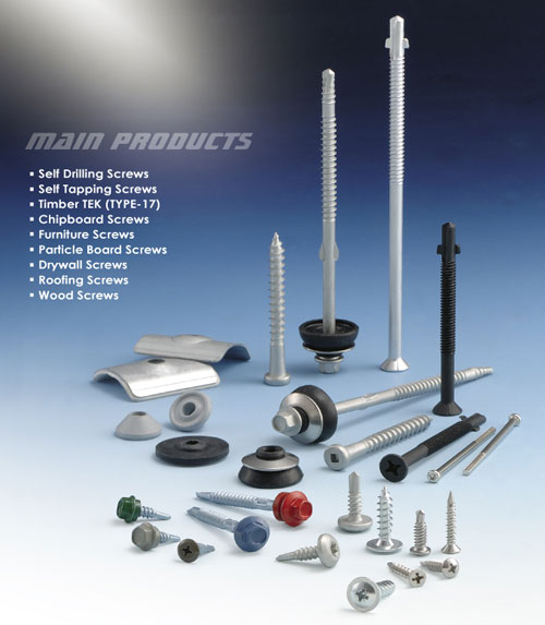 Chan Chin C. Enterprise Steps into the World - . An excellent Taiwan-based screw manufacturer